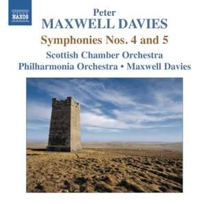 Maxwell Davies: Symphonies Nos. 4 & 5