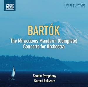 Bartók: The Miraculous Mandarin & Concerto for Orchestra Product Image