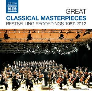 Great Classical Masterpieces - Bestselling Naxos Recordings 1987-2012 Product Image