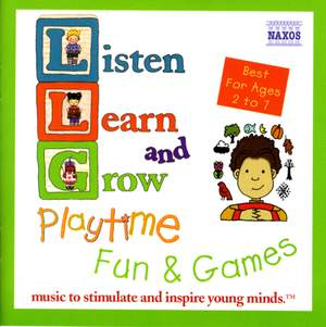 Listen, Learn and Grow: Playtime Fun and Games Product Image