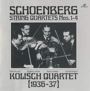 Schoenberg: String Quartets Nos. 1 - 4