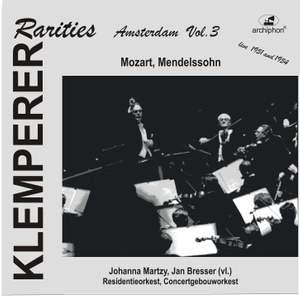 Klemperer Rarities: Amsterdam, Vol. 3