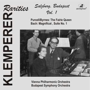Klemperer Rarities: Salzburg/Budapest, Vol. 1 (1947-1950)