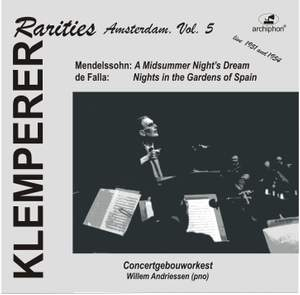 Klemperer Rarities: Amsterdam, Vol. 5 (1951)