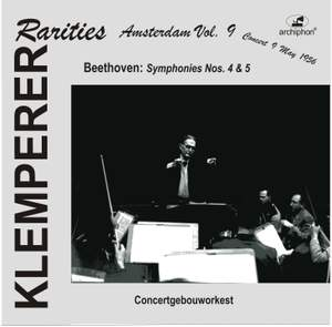 Klemperer Rarities: Amsterdam, Vol. 9 (1956)