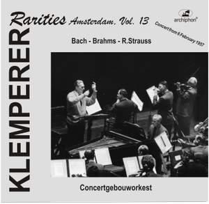 Klemperer Rarities: Amsterdam, Vol. 13 (1957)