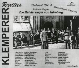 Klemperer Rarities: Budapest, Vol. 6 (1949)