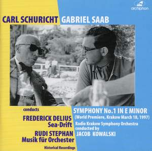 Saab, Delius and Stephan: Works for Orchestra Product Image
