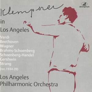 Klemperer in Los Angeles