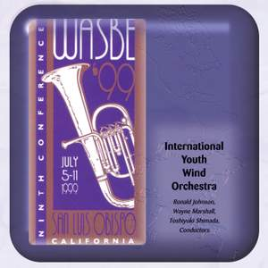 1999 WASBE San Luis Obispo, California: International Youth Wind Orchestra Product Image
