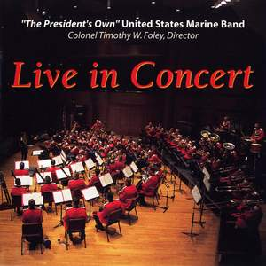 President's Own United States Marine Band: Live in Concert Product Image