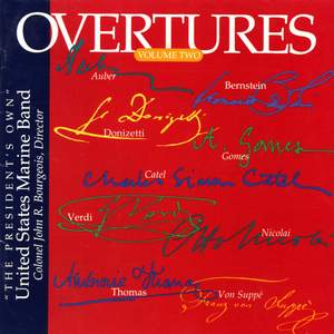 United States Marine Band: Overtures, Vol. 2