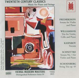 Distinguished Performers, Series 3: Music for Piano and Strings