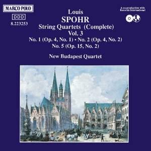 Louis Spohr: String Quartets, Volume 3 Product Image