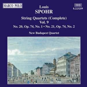 Louis Spohr: String Quartets, Volume 9