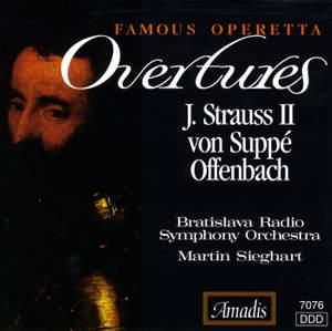 Famous Operetta Overtures