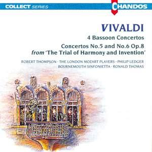 Vivaldi: Four Bassoon Concertos