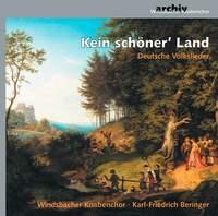 Kein schoener' Land: Deutsche Volkslieder