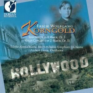 Korngold: Sinfonietta & Violin Concerto