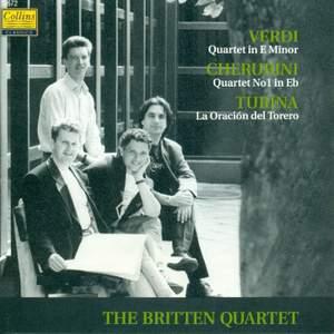 Verdi, Cherubini & Turina: Works for String Quartet