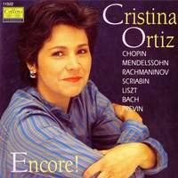 Cristina Ortiz: Encore!