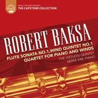 Robert Baksa: Quartet for Piano and Winds