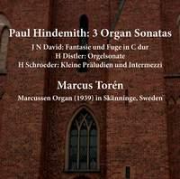 Hindemith: 3 Organ Sonatas - David - Distler - Schroeder