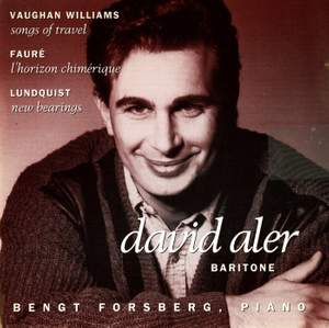 David Aler sings Vaughan Williams, Faure & Lundquist Product Image