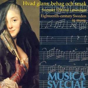 Eighteenth Century Sweden in Music