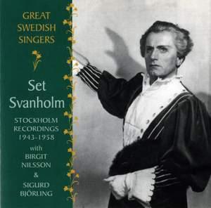 Great Swedish Singers: Set Svanholm (1943-1958)