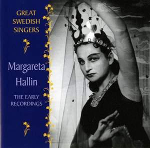 Margareta Hallin: The Early Recordings (1955-1960)