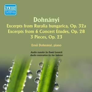 A Memorial Album: Works of Ernst von Dohnanyi
