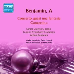 Benjamin: Concerto quasi una fantasia - Concertino