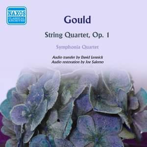 Gould, M: String Quartet, Op. 1
