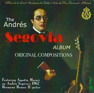 Andres Segovia: Original Compositions