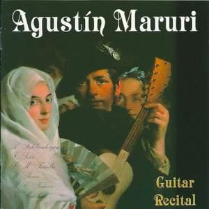 Agustin Maruri: Guitar Recital
