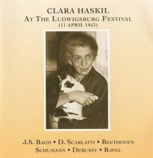 Clara Haskil at the Ludwigsburg Festival, 11th April 1953