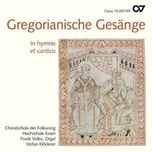 Choral Music (Gregorianische Gesange) (Choralschola der Folkwang Hochschule Essen, Klockner)