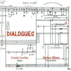 Sannicandro, V.: Epistolae Iii / Mundry, I.: Komposition for Flute and Percussion / Schlunz, A.: La Faulx De L'Ete