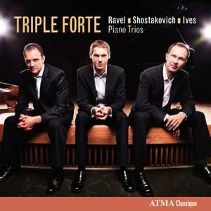 Ravel, Shostakovich & Ives: Piano Trios