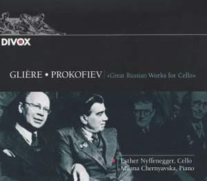 Glière & Prokofiev: Works for Cello & Piano Product Image