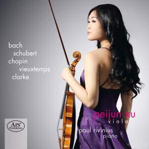 Peijun Xu plays Bach, Schubert, Chopin, Vieuxtemps & Clarke