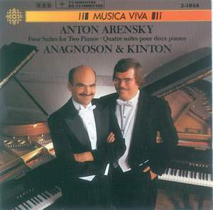 Arensky: 4 Suites for 2 Pianos