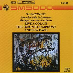 Chaconne: Music for Viola and Orchestra