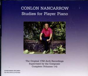 Nancarrow: Studies for Player Piano (Vols. 1-4) Product Image