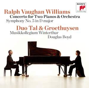 Vaughan Williams: Concerto for Two Pianos Product Image