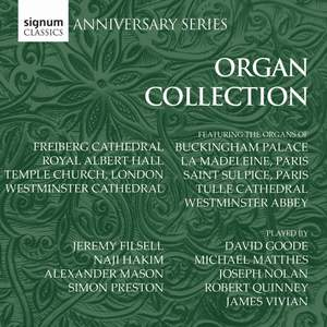 Signum Anniversary Series: The Organ Collection
