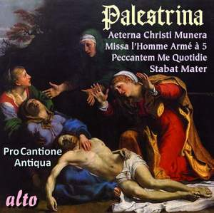 Palestrina: Missa Aeterna Christi Munera & Stabat Mater