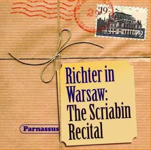 Sviatoslav Richter in Warsaw: The Scriabin Recital