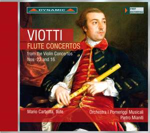 Viotti: Flute Concertos from the Violin Concertos Nos. 23 and 16